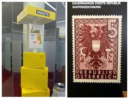 En Autriche, les timbres s'achètent aussi en pharmacie !