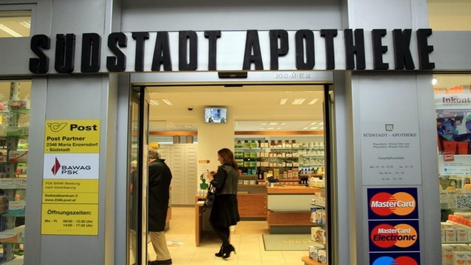 En Autriche, les timbres sont disponibles à la vente dans les pharmacies . (Crédit photo David Raynal)