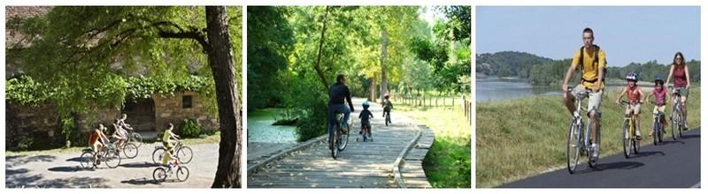 Promenades à vélo,en famille, pour découvrir les sentiers les plus mystiques, descendre les vallées et pénétrer dans les immenses forêts.(photos DR)