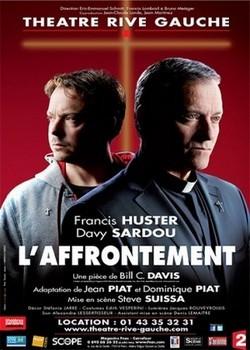 Affiche du spectacle qui se déroule jusqu'au 30 décembre 2013 au Théâtre Rive Gauche à Paris.