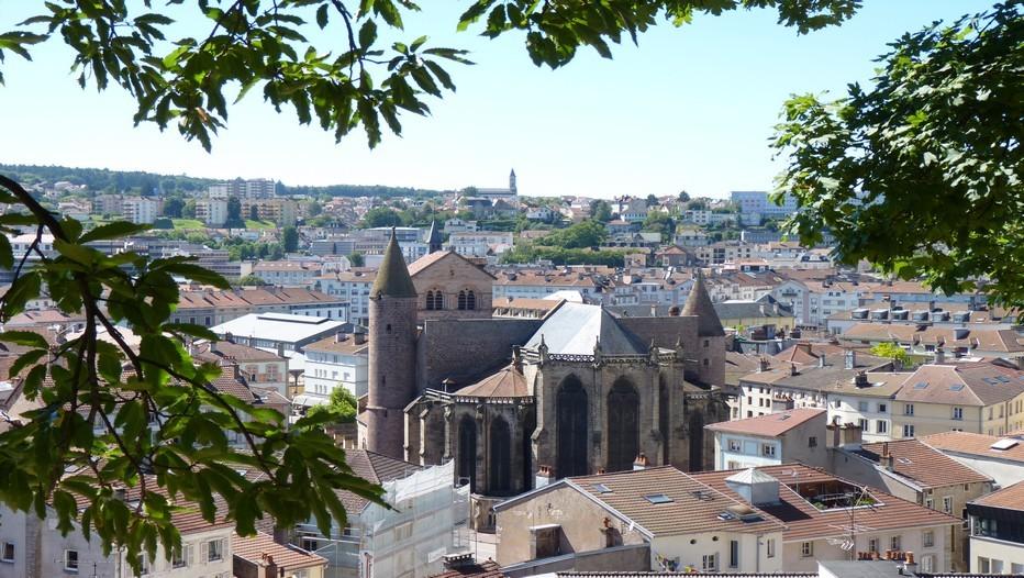 Vue d'ensemble de la ville d'Epinal. Tout le charme d'une ville forte de plus de 32 000 habitants.(Crédit photo Bertrand Munier)