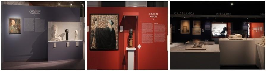 """L' exposition montre également des réalisations majeures à Tokyo, dans l'Indochine de l'époque, à Belgrade le """"petit Paris"""" d'alors, en Tunisie et Algérie…(© CAPA/Gaston Bergeret, 2013)"""