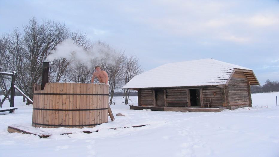 La 5e édition du Marathon européen des saunas se tient le 2 février prochain à Otepää,  la capitale estonienne d'hiver.Une épreuve qui consiste à  trouver et à visiter les différents saunas de la ville le plus rapidement possible (Crédit photo OT d'Estonie)