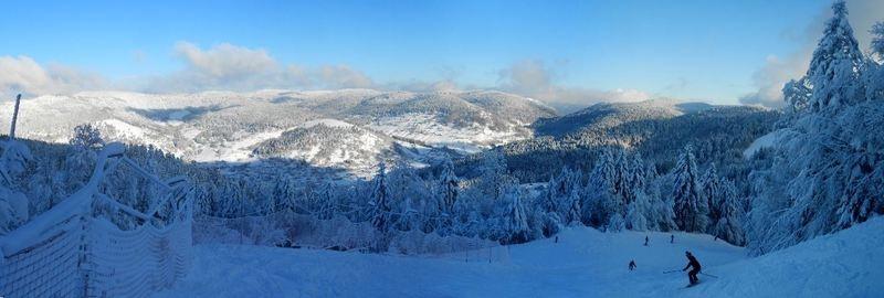 Magnifique panorama du Massif des Vosges (Photo DR)