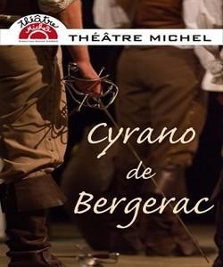 L'affiche de Cyrano de Bergerac, un spectacle à découvrir avec les enfants.