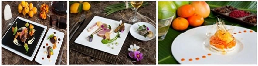 L'originalité des produits locaux et le plaisir du goût sont les maîtres-mots du Makassar, le restaurant gastronomique du Palm Hôtel.(Crédit Photos (Palm Hôtel)
