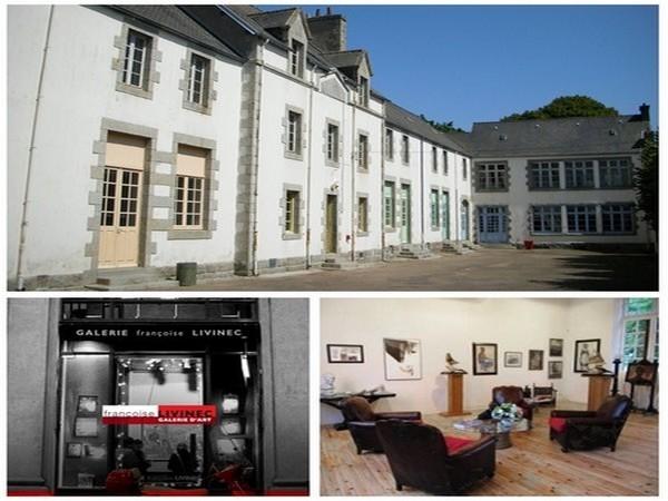 De juin à septembre, l'espace d'art de l'École des Filles réunit en Bretagne des auteurs, artistes, personnalités, par des expositions et des rencontres événementielles avec le public (Crédit photo D.R.)