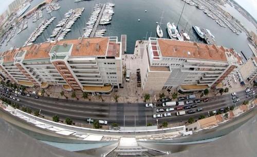 La frontale du port et ses environs sont réhabilités. © Photo Richard Barsotti