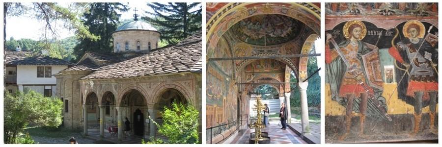 Nombreuses sont les églises qui ont échappé aux vandales durant les siècles passés. Témoins les fresques de celles de Troyan ou d'Arbanassi.(Crédt photos Catherine Gary)