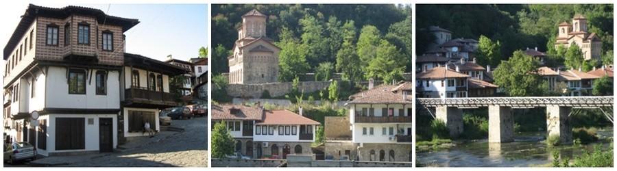 La ville perchée de Véliko Tarnovo fut aussi un lieu important de la résistance bulgare du haut de sa forteresse impressionnante. Aujourd'hui la ville se prête à la balade dans le charme de ses ruelles grimpant sur la colline. (Crédit Photos Catherine Gary)