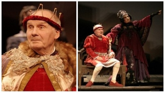 Le Roi se meurt de Ionesco, l'apothéose de Michel Bouquet  actuellement au Théâtre Hébertôt avec à ses côtés dans le rôle de la reine Marguerite la grande comédienne Juliette Carré (Crédit Photo Lot)