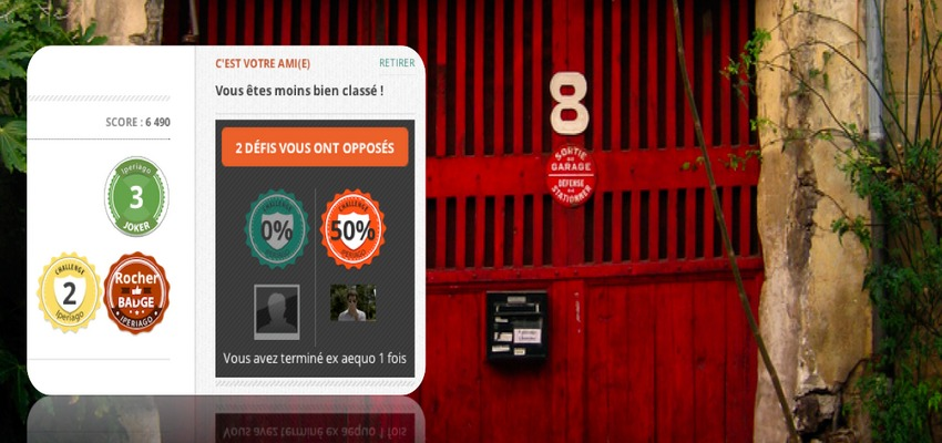 Un chronomètre permet aux utilisateurs d'Iperiago de se lancer, entre eux, des défis : qui pourra débloquer le plus d'étapes en un minimum de temps, et terminer le premier le jeu de piste. L'objectif est bien sûr de s'amuser, mais aussi de réinventer l'exploration des lieux, tout en s'adressant à un public plus jeune, plus familial (Crédit photo www.iperiago.com)