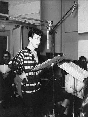 Jean-Claude Berthon : le jeune fondateur de « Disco Revue ». (Crédit photo : B. Lampard - J.L. Rancurel - Photothèque)