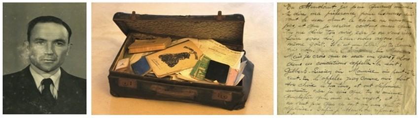 L'auteure Irène Frain sept ans après la disparition de son père fouille le contenu d'une petite valise noire bourrée de lettres et de poèmes qu'il lui avait léguée avant de mourir. (Crédit photo D.R)