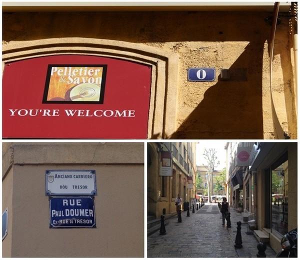 Unique au monde, un numéro zéro se trouve dans la belle ville d'Aix-en-Provence, très exactement rue Paul Doumer. (Crédit photo DR)