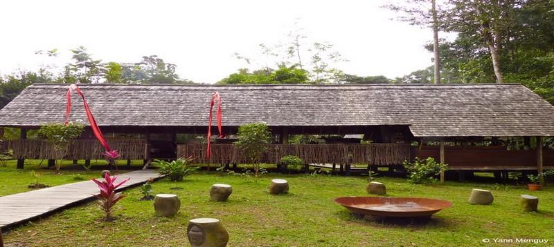 Dès l'arrivée au Wapa Lodge, sur la crique Cariacou le dépaysement est total.(Crédit photo Yann Menguy)