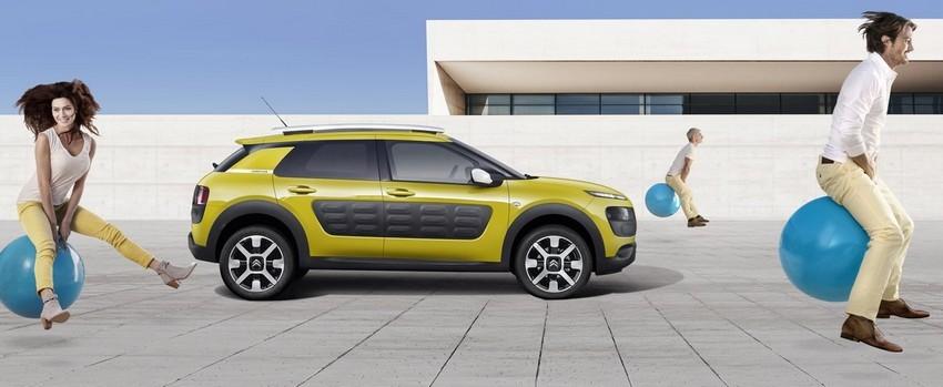 Un bel exercice de style que la C4 Cactus du constructeur Citroën (Crédit photo DR)