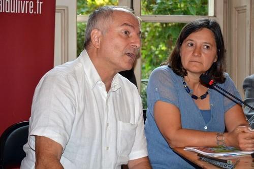 Béatrice Collignon et Philippe Pelletier, les directeurs scientifiques du FIG (Crédit photo David Raynal)