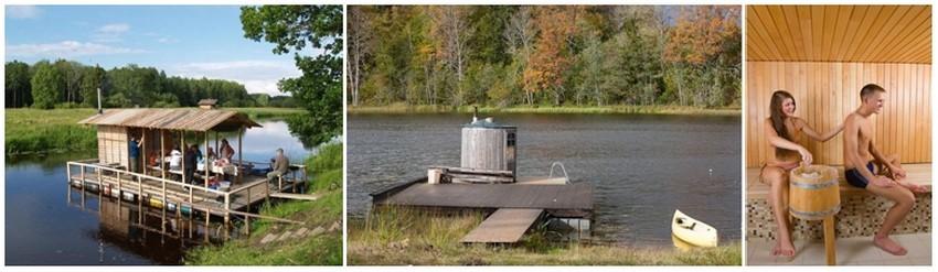 Il existe également des saunas sur des barques qui circulent sur les rivières ou les lacs et qui offrent la possibilité de se baigner dans l'eau après en avoir profité (Crédit photos DR)