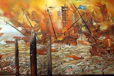 De célèbres batailles, dont celle du Bach Dang, en 1288, mirent un frein définitif aux invasions mongoles. (Crédit photo DR)