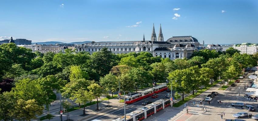 Vue de la Ringstrasse à Vienne qui fête en 2015 ses 150 ans.(Copyright : Wien Tourismus/Christian Stemper)