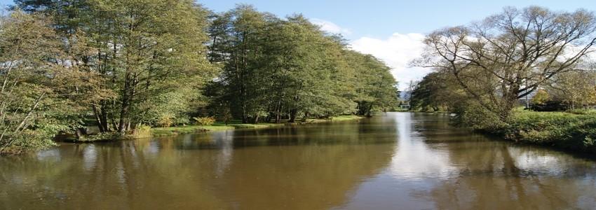 La Meurthe, une rivière qui traverse le centre de la ville de Saint-Dié-des-Vosges (Crédit Photo DR)