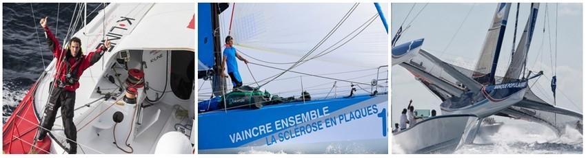 Aujourd'hui, les bateaux sont pensés et construits dans la perspective de cette épreuve. La transat à destination de la Guadeloupe devient, à chaque nouvelle édition, le témoin des avancées technologiques et architecturales de la course au large (Crédit photos D.R., Pierrick Contin )
