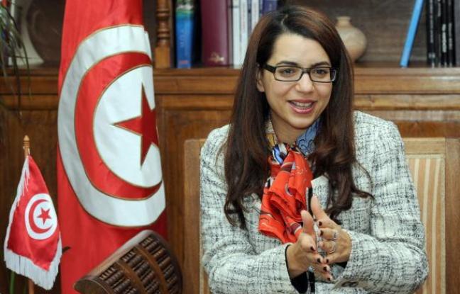 Amel Karboul, ministre du tourisme en Tunisie  ( Crédit photoFethi Belaid/AFP)