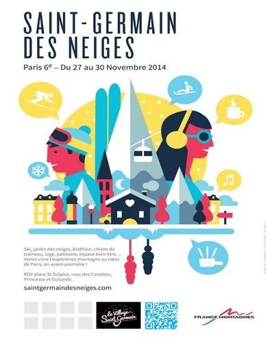 Quatre jours de ski au quartier latin avec La Saint-Germain des Neiges!