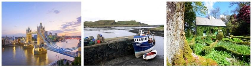 Londres, l'Ecosse et l'Irlande font partie des Iles Britanniques. Territoire invité lors de l'édition du Festival International de Géographie 2014 (Crédit photos David Raynal)