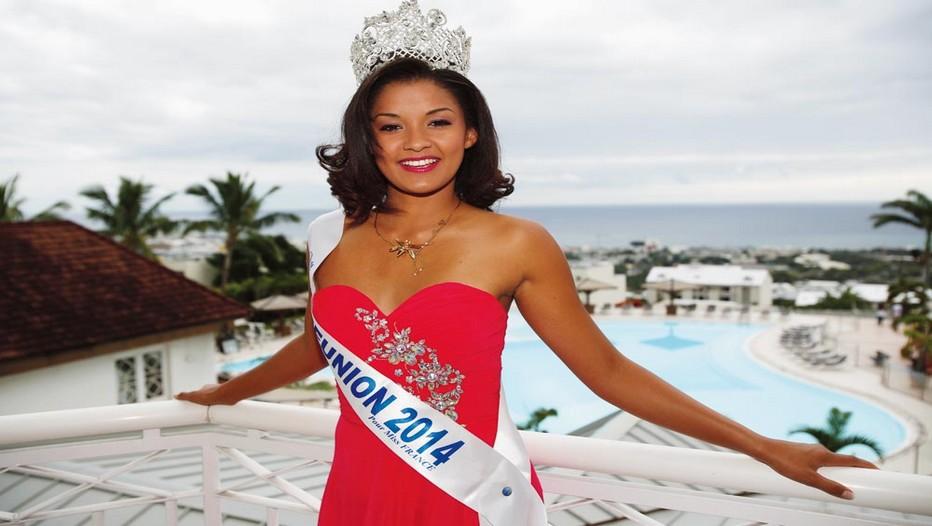 Miss Réunion 2014, prétendante au titre de Miss France samedi 6 décembre prochain. Une élection qui se déroulera au Zénith d'Orléans, et à suivre en direct à partir de 20h30 sur la chaîne française TF1. (Crédit Photo DR)