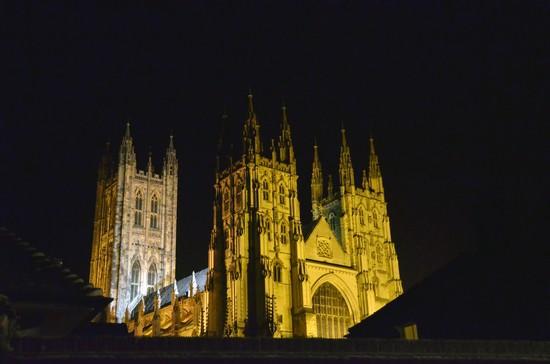 La cathédrale de Canterbury demeure de l'archevêque éponyme inscrite au patrimoine mondial de l'Unesco (Crédit photo David Raynal)