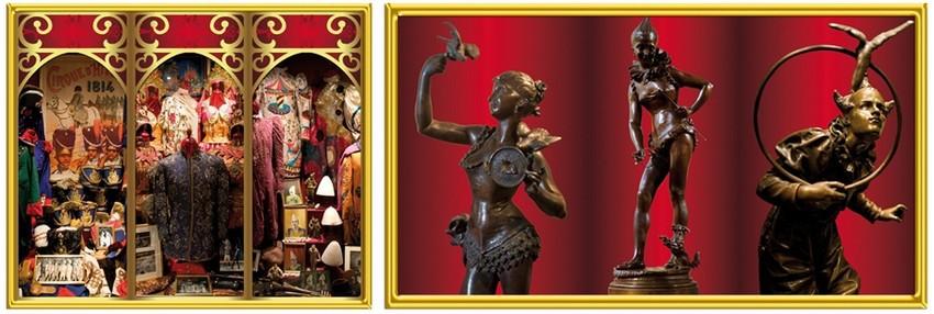Quelques images des trésors du musée Bouglione (Crédit photos Musée Cirque Bouglione)