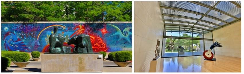 Partout les musées déclinent les chefs d'œuvre du passé et de l'art contemporain au Dallas Museum of Art,au  Nasher Sculpture Center et bien d'autres... (Crédit photos DR)