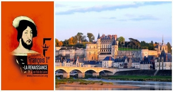 Vue d'ensemble sur le Château d'Amboise (Crédit photo CRT Centre Val de Loire)