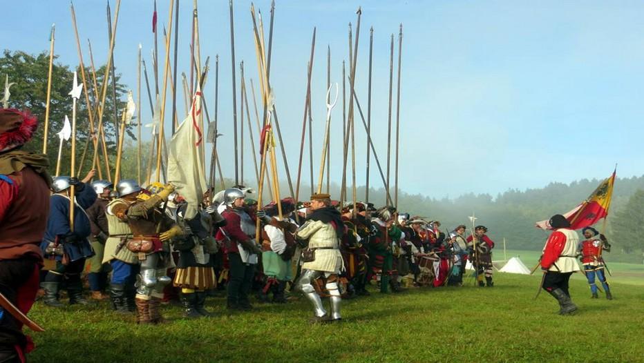 Reconstitution de la bataille de Marignan 1515, une date qui ne s'oublie pas ! Surtout cette année dédiée en Val de Loire à François 1er. (Crédit photo CRT Centre de Val de Loire)