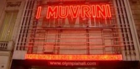 Façade de l'Olympia où doit se dérouler vendredi 3 avril 2015 le concert du groupe corse I Muvrini (Crédit photo DR)