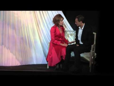 """""""24 heures de la vie d'une femme """" avec Clémentine Célarié actuellement au Théâtre Rive Gauche :  L'histoire se déroule sur la Riviera dans les années 30, belle époque quand l'argent coule à flot.(© HD)"""