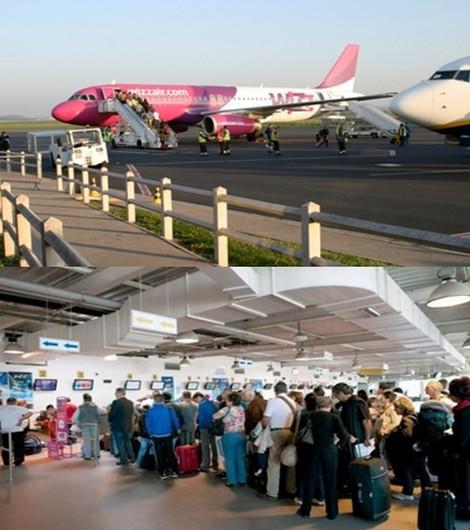 Aujourd'hui, toute l'Europe connaît Beauvais par son aéroport beaucoup plus que par sa cathédrale… L'appellation « Paris-Beauvais » a été indispensable au lancement des liaisons régulières low-cost.(© DR)