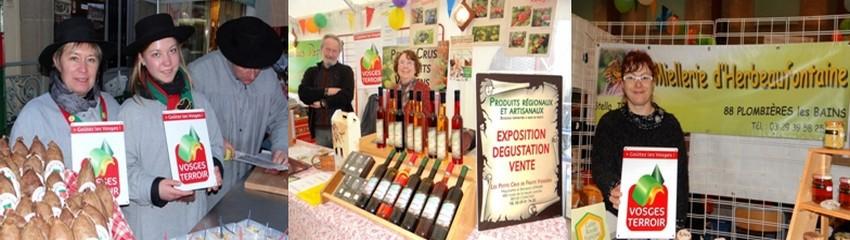 Le label « Vosges Terroir » certifie des produits de qualités.  (Photos Bertrand Munier)