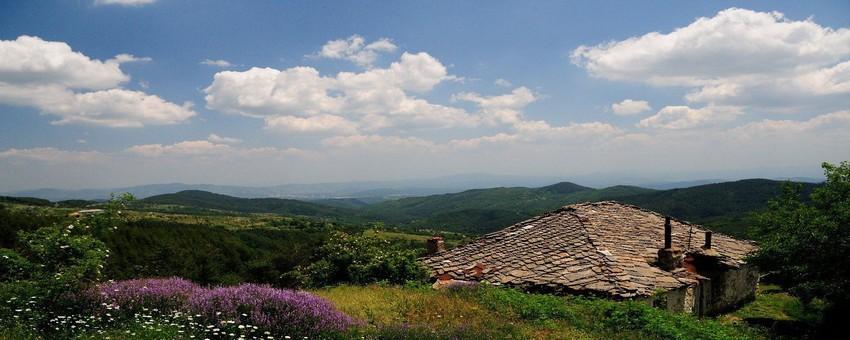 Paysage des Rhodopes de l'Est (Bulgarie) (Crédit photo Bulgarie.fr)