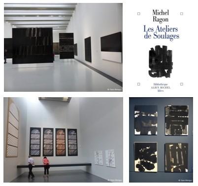 """Exposition"""" Outrenoirs en Europe"""" actuellement au Musée Pierre Soulages à Rodez (Aveyron) (Crédit photos Yann Menguy)"""