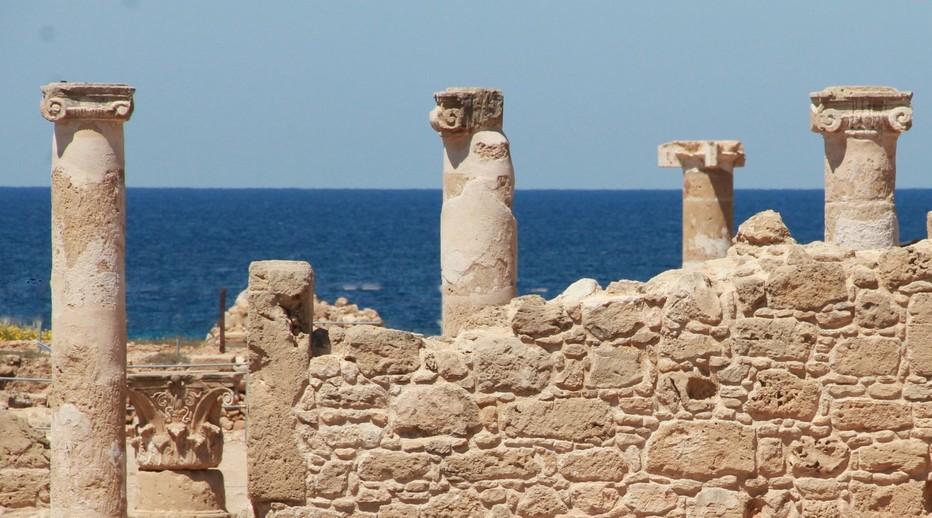 Parc archeologique de Paphos, l'un des sites historiques classés de l'île de Chypre © P. Cros