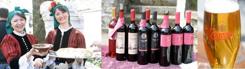 La Bulgarie a la double culture Bière et Vins en matière de boissons à   table... © Richard Bayon