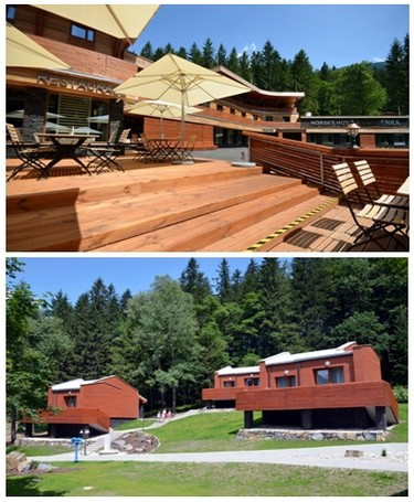 Le Horský hôtel Čeladenka vous fera vivre dans un cadre exceptionnel et pour un très bon rapport qualité/prix une expérience unique de vacances au grand air.  © David Raynal