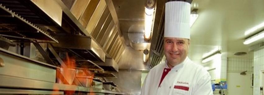 Jacques Hildenbrand le talentueux chef de cuisine..©  DR