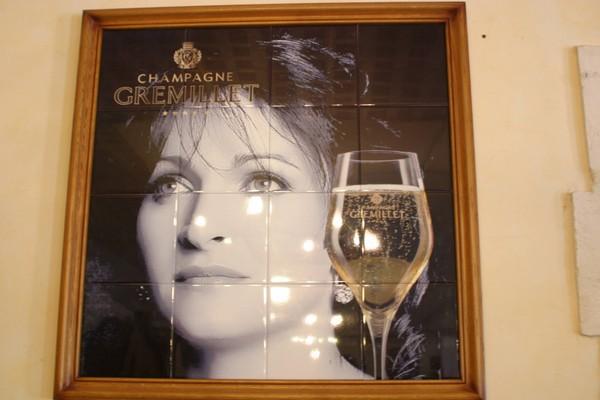 Anne Gremillet, fille des propriétaires du Domaine Gremillet situé dans l'Aube.  © DR