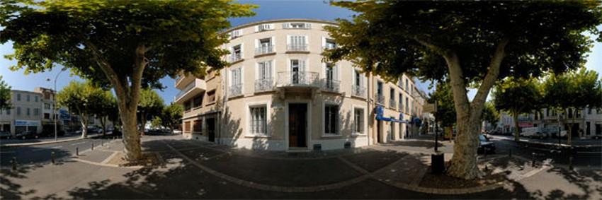 La maison de Marcel Pagnol située au coeur de la ville d'Aubagne. © DR