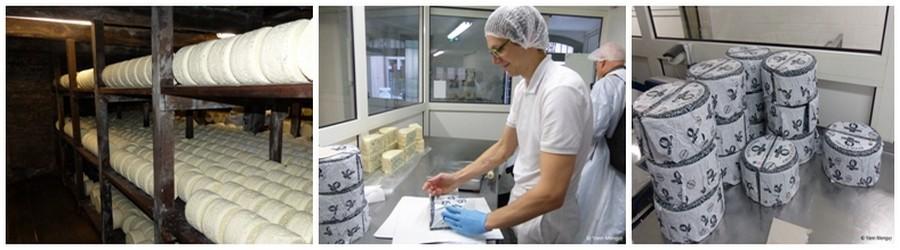 C'est l'une des Appellation d'Origine Contrôlée AOC les plus connues, et depuis trois générations, le « Roquefort Carles » qu'on trouve chez les meilleurs fromagers et sur les plus grandes tables, est fabriqué à la main selon le procédé origine (© Yann Menguy)