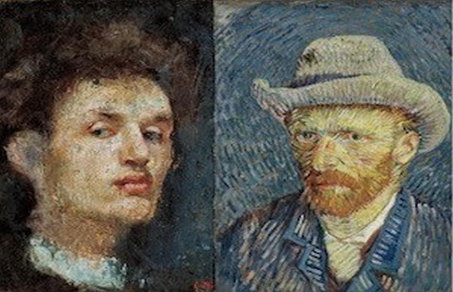 Autoportraits de Munch/Van Gogh, le Musée Van Gogh d'Amsterdam présente le travail de ces deux peintres emblématiques du XXè siècle en mettant l'accent sur les interactions qui émanent de leur travail. © DR